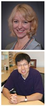 McGowan affiliated faculty members Drs. Anne Robertson (top) and Yadong Wang