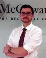 McGowan faculty member Dr. Bryan Brown