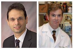 McGowan affiliated faculty members (from left) Drs. David Hackam and Timothy Billiar