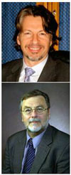 McGowan Institute affiliated faculty members (from top) Drs. Derek Angus and Michael Pinsky