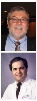 McGowan affiliated faculty members Drs. Michael Pinaky (top) and Gilles Clermont