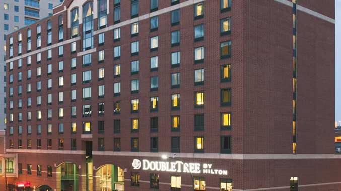 Exterior of the Doubletree Hotel Rochester - Mayo Clinic Area.
