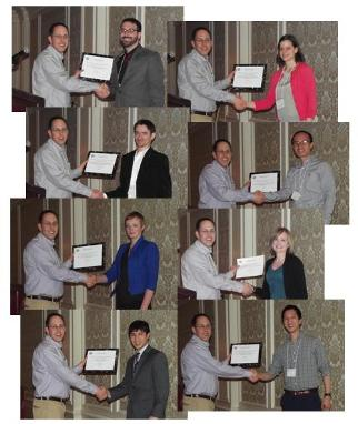 McGowan faculty members Drs. Yadong Wang (top) and Donna Stolz