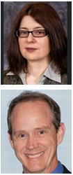 McGowan Institute affiliated faculty members Drs. Jelena Janjic (top) and John Pollock