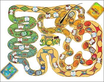 pollock Board Game